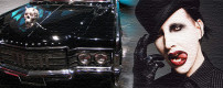 Marilyn Manson's custom 1969 Lincoln Continental