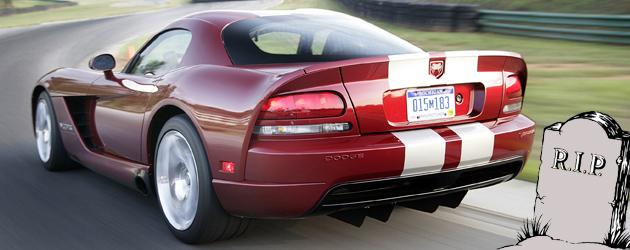 Dodge Viper: RIP