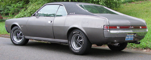 AMC Javelin: 1968-1970, 1st generation