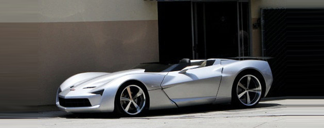 Spied: Corvette Stingray Concept Cabrio