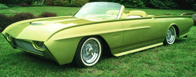 Custom 1963 Ford Thunderbird Convertible