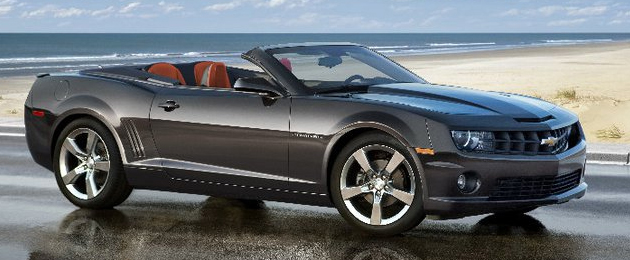 2011 Camaro Convertible: official photos