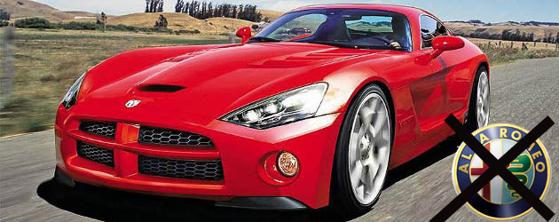 Official: 2013 Viper will not be based on Alfa Romeo