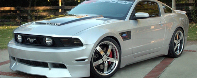 Random snap: RK Sport kit for 2011 Mustang
