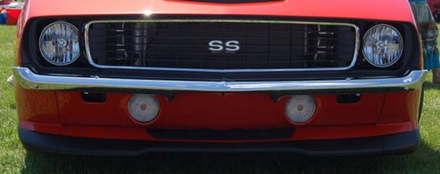 Random snap: weird Camaro fascia