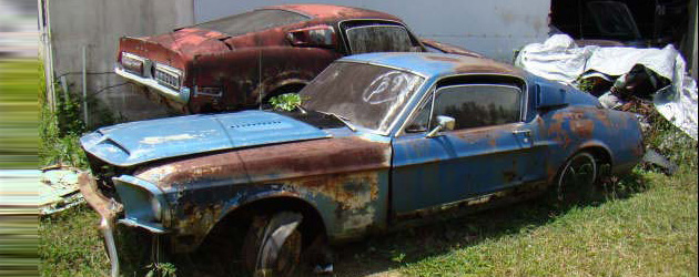 Muscle Cars in Barns, fields and elsewhere