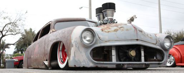 Extraordinary Lowrider Rat Rod