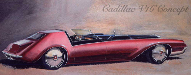 Cadillac concepts from the sixties