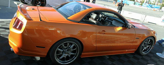 2011 Mustang Convertible Custom by Galpin