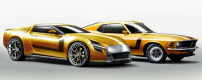 Jakusa Bossco blends Camaro with Mustang