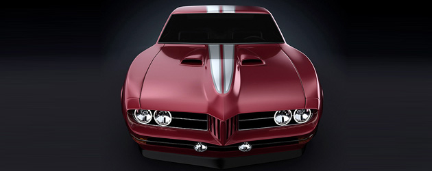 Custom 1968 Pontiac Firebird