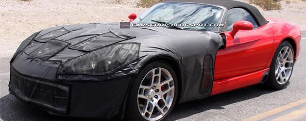 2013 Dodge Viper Spied again