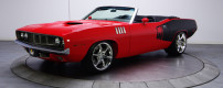 1971 Plymouth Cuda Convertible with Viper engine