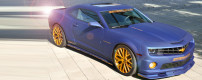 Geiger Cars: Blaumatt Gold Camaro SS