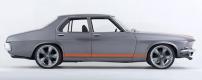 Folden: half Mustang half Holden HQ