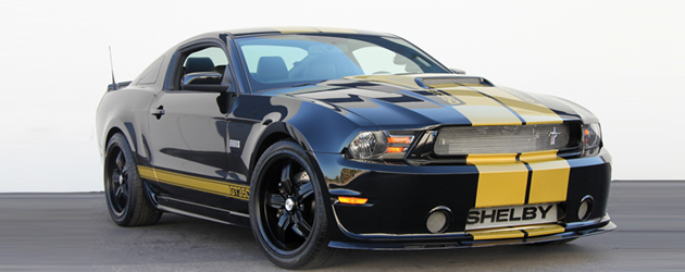 50th Anniversary Shelby Mustang package: GTS, GT350 and Super Snake