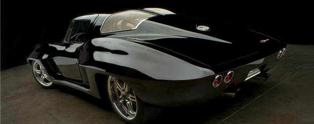V7 Prototype – custom 1963 mid-engined Corvette