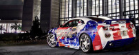 Tribute Camaro for wounded warriors – Veteran1