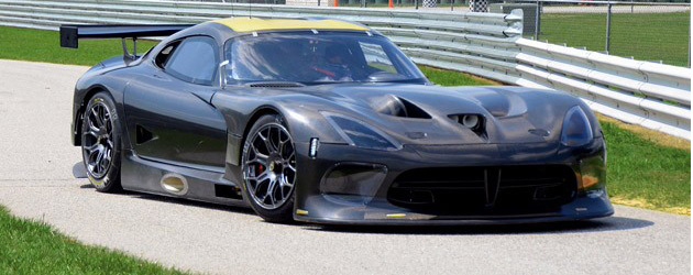 SRT Viper GTS-R looses its track virginity