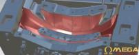 2014 C7 Corvette front bumper leaked