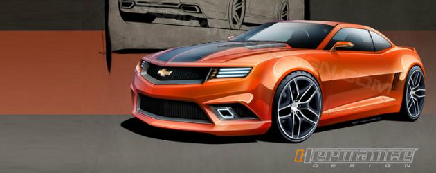 2015 Camaro render by Hermance design