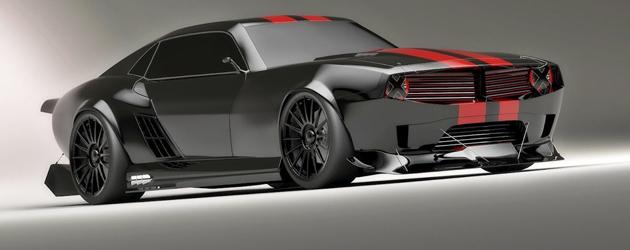 2012 Pontiac Firebird TT black Edition Concept