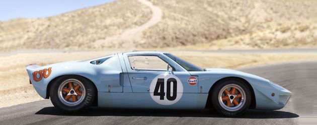 American car sale record: 1968 Ford GT40