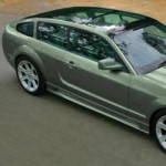 Random snap: Ford Mustang Shooting Brake