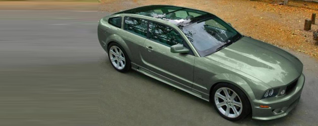 Random snap: Ford Mustang Shooting Brake