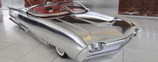 Random snap: Thunderflite – 1961 Ford Thunderbird Custom Roadster