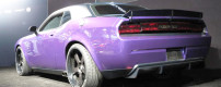 One off Purple Challenger SRT by Mopar