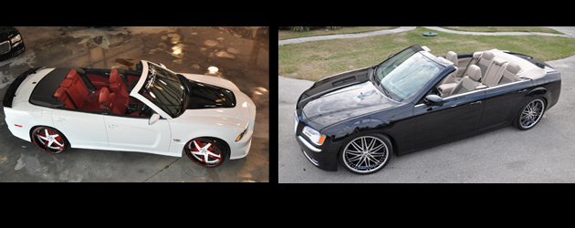 Convertible: 2012 Charger and Chrysler 300