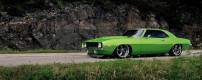 Random snap: green Camaro