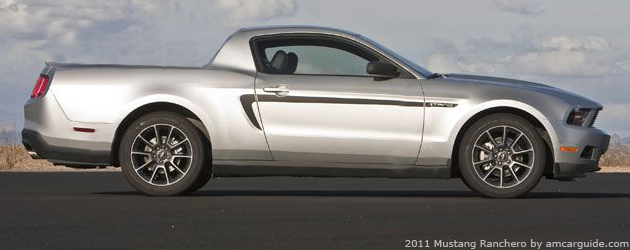 2011 Mustang Ranchero