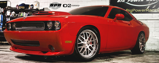 2013 Challenger SRT8 by BPR and D2Forged Wheels