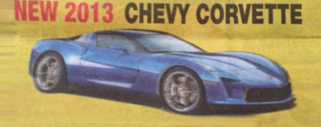 This might be the C7 Corvette