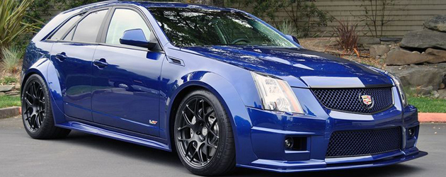 Wide Body Cadillac CTS-V Wagon by Canepa