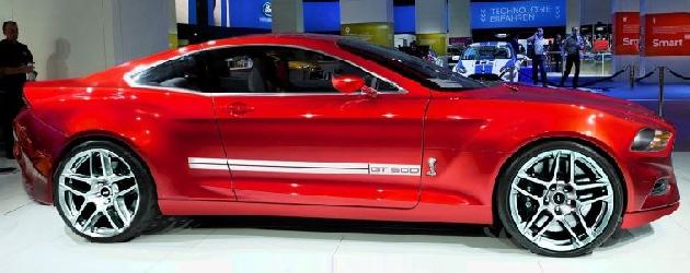 S550 is 2015 Mustang's new platform