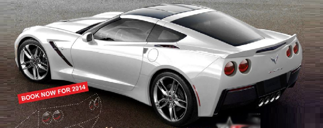 2014 Corvette Stingray's kit for tail lights