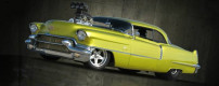 Badillac – custom Cadillac DeVille 1956