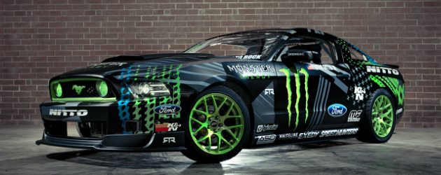 Monster Energy Nitto Tire 2014 Mustang RTR