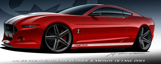 2015 Shelby GT500 by John McBride