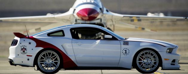 USAF Thunderbirds Edition 2014 Mustang GT