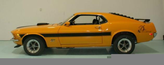 1970 Sidewinder Mustang