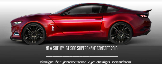 2016 Shelby GT500 Supersnake Concept