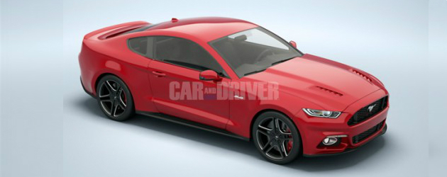 Car and Driver leaked 2015 Mustang