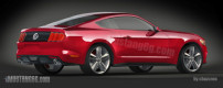 New 2015 Mustang renders from CAD images