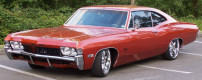 Custom 1968 Chevrolet Impala Sport Coupe Lowrider