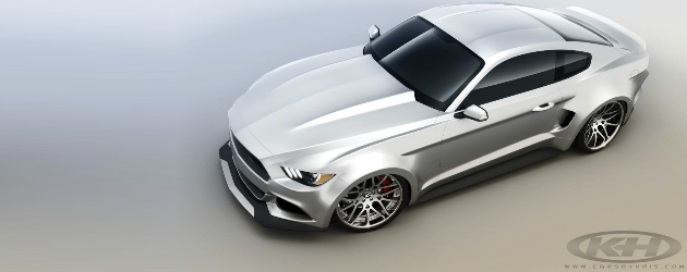 2015 Mustang Wide Body by Forgiato