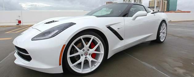 HRE put their wheels on C7 Stingray